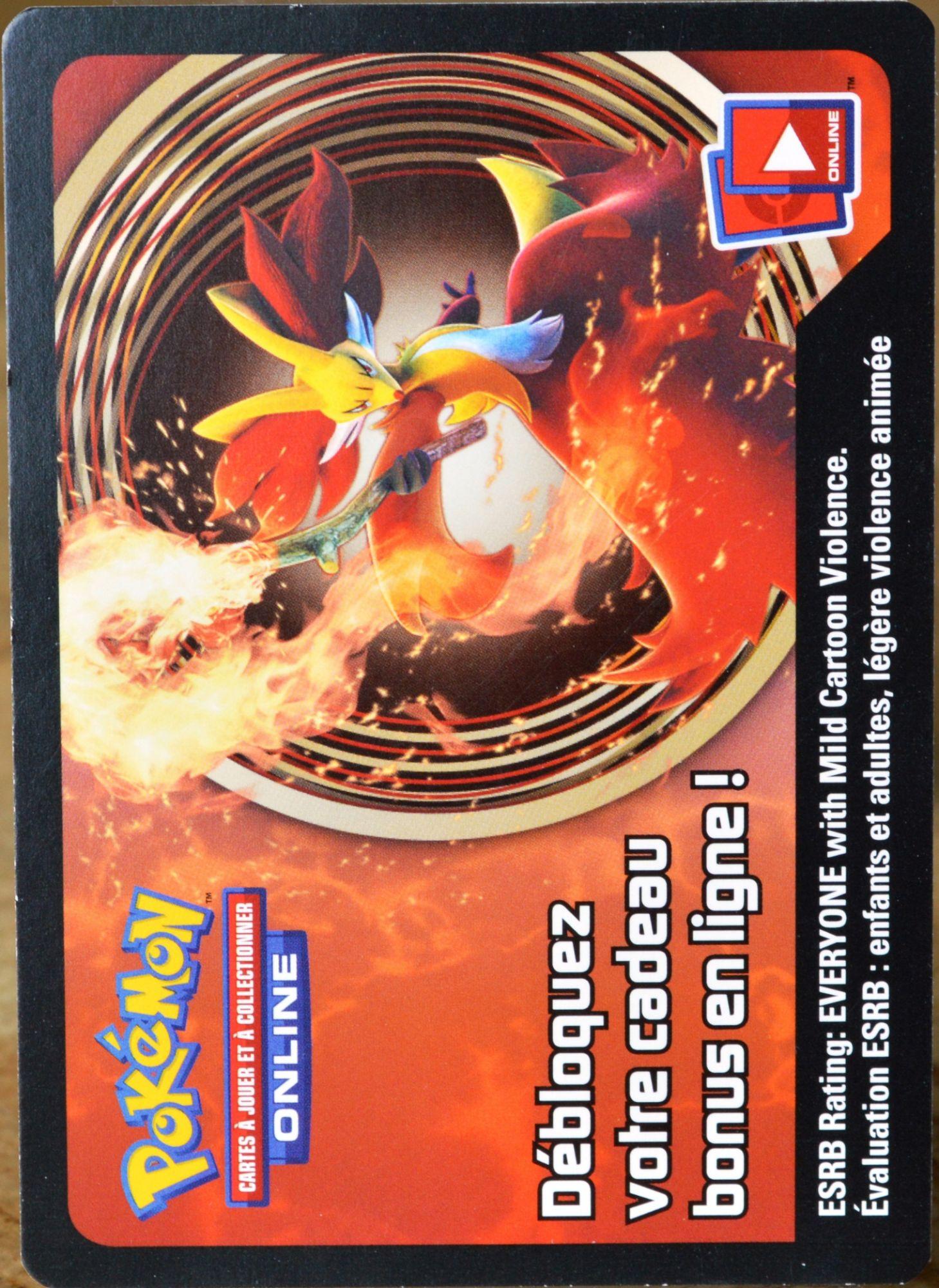 Jcc Pokemon Carte A Code Online Goupelin Codes Neuf Non Utilise Rakuten