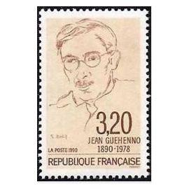 FRANCE NEUF 1990 JEAN GUEHENNO 2641