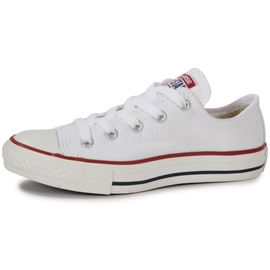 Chuck Taylor All Star Enfant Basse Blanche Tennis