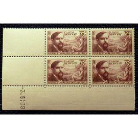 Coin daté Claude Debussy Yvert 437 Neuf sans charnière