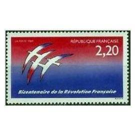 FRANCE NEUF 1989 BICENTENAIRE DE LA REVOLUTION FOLON 2560