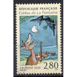 France Oblitere 1995 Jean De La Fontaine 2961