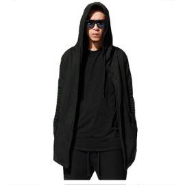 hoodie long homme