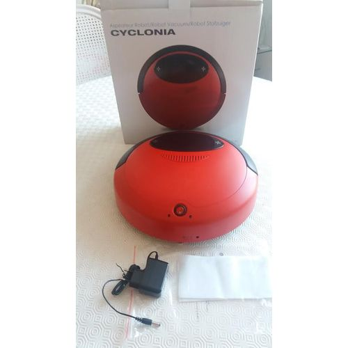 Aspirateur Robot Cyclonia Hz-03 : Robot Aspirateur Ultra Slim Black
