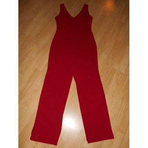 Robe Longue Fendue Rouge Rubis Camaieu Taille 36 Rakuten