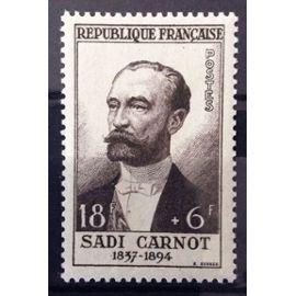 France - Célébrités XIII au XXème Siècle - Sadi Carnot (Impeccable n° 991) Neuf** Luxe - Cote 26,00€ - Année 1954 - N13054