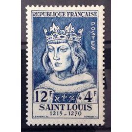 France - Célébrités XIII au XXème Siècle - Saint Louis (Impeccable n° 989) Neuf** Luxe - Cote 26,00€ - Année 1954 - N13052