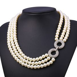 collier perle femme