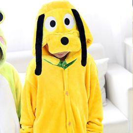 en arrivant riche et magnifique vente chaude authentique Unisexe Combinaison chien Animaux Pyjama Kigurumi Enfants Garçon Fille Pour  Déguisement Halloween/Toussaint