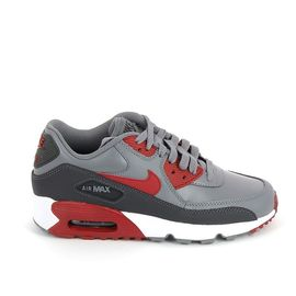 NIKE Air Max 90 Jr Gris Rouge 833412 007 | Rakuten