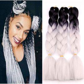 10pcs Lot Fibers Chimiques Grandes Tresses Perruques Cheveux Tresse Africaine Cheveux Halloween Fete De Noel Bar De Danse Decorations Rakuten