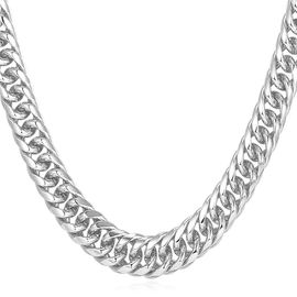 collier platine femme