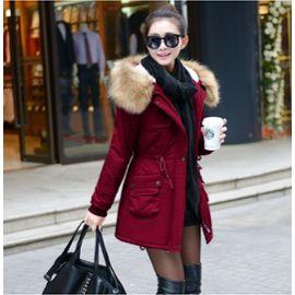 Veste hiver rouge