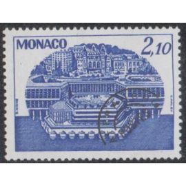 Timbre de monaco N°P.R.57 Y&T 2,10 f. outremer centre de congrès