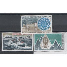 France 1974: Lot de 3 timbres N° 1791, 1792 et 1797.
