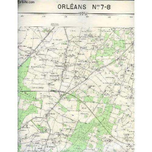 Ign Carte De France 1 25000 Orleans N 7 8 Rakuten