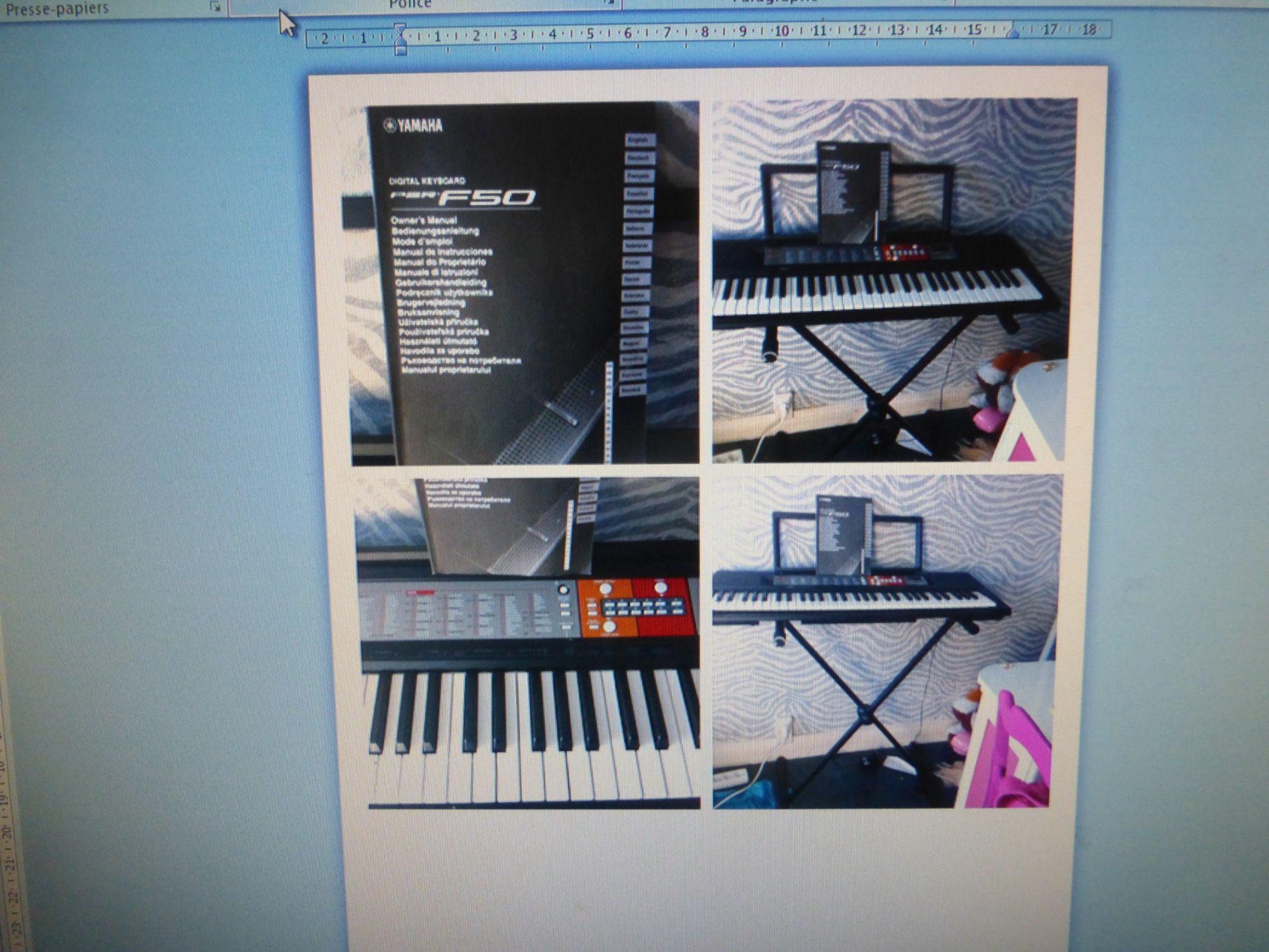 Vente Yamaha Piano Yamaha