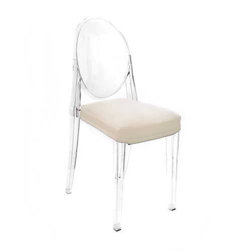 Il Chaise Cuscino Kartell Cuir GhostIvoire Coussin Uruguay Victoria Pour Myareadesign Faux oxdrBeC