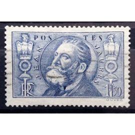 France - Jean Jaurès 1f50 outremer (Très Joli n° 319) Obl - Cote 4,00€ - Année 1936 - N14459