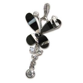 Charm papillon en argent pour charmes colliers bracelets bo SilberDream Charms