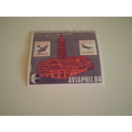 Bloc feuillet CNEP N° 5A 1984 AVIAPHIL