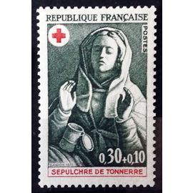 France - Croix Rouge 1973 - Sépulcre de Tonnerre - Marie-Madeleine 0,30+0,10 (Impeccable n° 1779) Neuf** Luxe - N14688