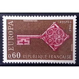France - Europa Clé 0,60 (Impeccable n° 1557) Neuf** Luxe - Année 1968 - N14717