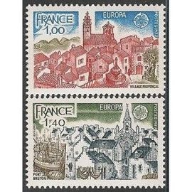 TIMBRE NEUF - YT 1928 + 1929 - EUROPA
