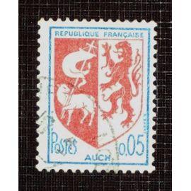 FRANCE N° 1468 oblitéré de 1966 - 5c « Armoiries de Auch »