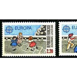 TIMBRES NEUFS - YT 2584 + 2585 - EUROPA