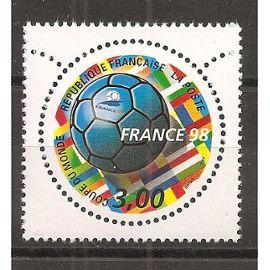 3139 (1998) France 98 Coupe du Monde de Football N** (cote 1,4e) (0941)