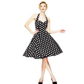 Robe Mariage Sixties 36 38 40 Retro Vintage Pois 50s 60s Dress Rockabilly Rakuten