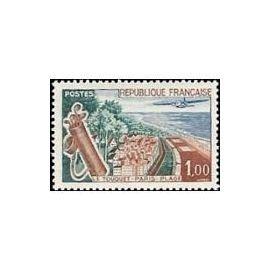 Timbre France Neuf 1962 Le Touquet Paris Plage 1,00f. Yvert 1355