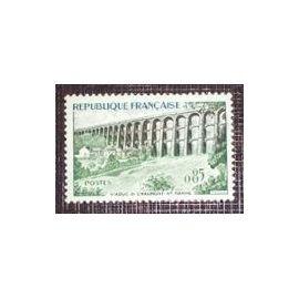 Timbre  France Oblitéré 1960 Viaduc de Chaumont 0,85f  . Yvert 1240