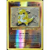 Carte Pokemon SABELETTE 54//108 Brillante Reverse XY12 Française NEUF