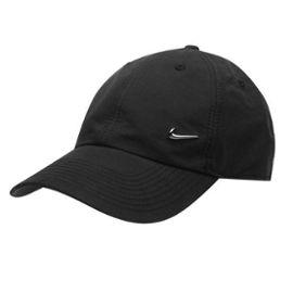 sur des coups de pieds de une grande variété de modèles recherche d'officiel Casquette Noire Homme Nike Logo en Métal