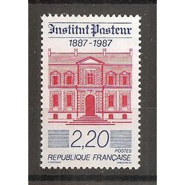 2496 (1987) Institut Pasteur N** (cote 1e) (0937)