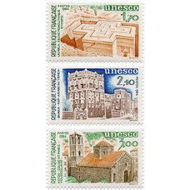 France 1984, très beaux timbres de service de l