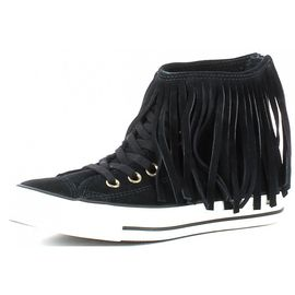 Converse All Star Ctas Fringe Suede Chaussures Femme Cuir
