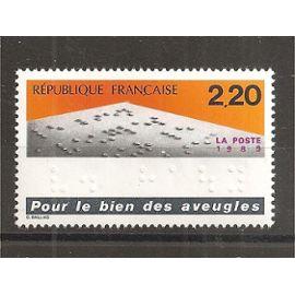 2562 (1989) Pour le Bien des Aveugles N** (cote 1e) (0933)