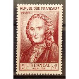 Célébrités XII au XXème Siècle - Jean-Philippe Rameau 15f+4f brun carminé (Impeccable n° 947) Neuf** Luxe (= Sans Trace de Charnière) - Cote 13,00€ - France Année 1953 - N17803