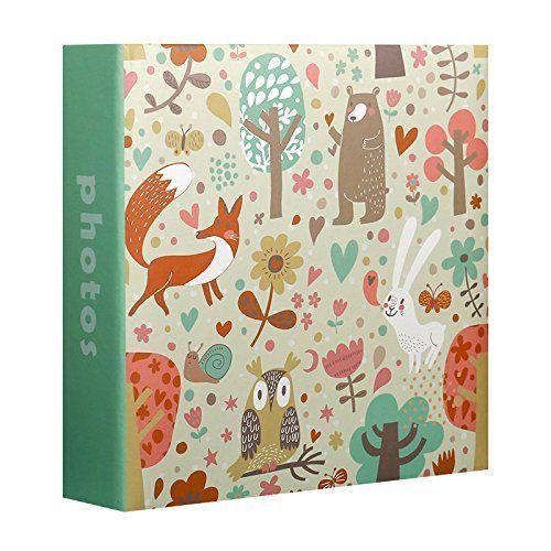 Album Photo Enfant Animals Vert 200 Photos 10x15 Cm Album Photo Pochettes Espace Mémo Pour Les Commentaires 2 Vues Par Page Rakuten