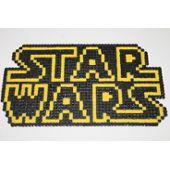 Pixel Art Logo Star Wars Avec Des Perles à Repasser Hama