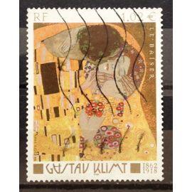 Gustav Klimt - Le Baiser 1,02€ (Très Joli n° 3461) Obl - France Année 2002 - N17956