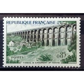 Viaduc de Chaumont 0,85 (Impeccable n° 1240) Neuf** Luxe (= Sans Trace de Charnière) - Cote 3,00€ - France Année 1960 - N18135