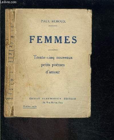 Femmes Trente Cinq Nouveaux Petits Poemes D Amour