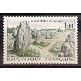 Alignements de Carnac 1,00 (Magnifique n° 1440) Neuf** Luxe (= Sans Trace de Charnière) - France Année 1965 - N18341