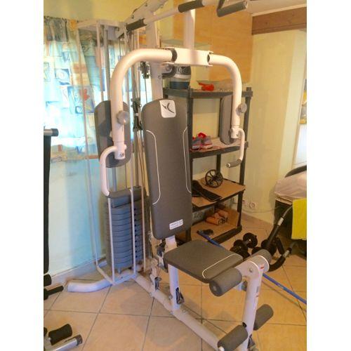 Chaise De Musculation Domyos Hg 60 4 Musculation Fitness Rakuten