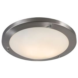 Salle de bain Lampe exterieure Plafonnier Yuma 41 acier Design E27 IP44 Rond