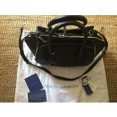 Rebecca Minkoff Mini Cuir Noir Perry Main Satchel Sac À qMGUzVSp